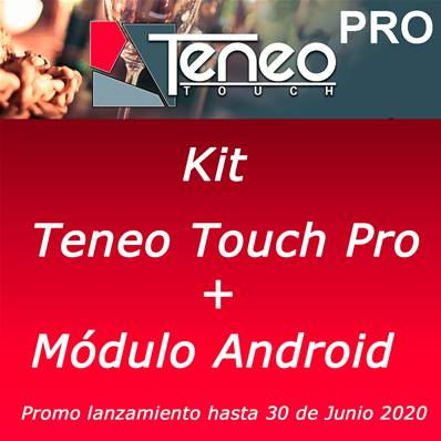 TENEO TOUCH PRO + MOD. ANDROID Promo Lanzamiento