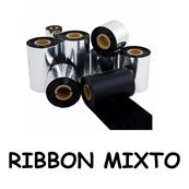 RIBBON MIXTO 75 x 300 G500 /530/RT700/EZ-1100/1200/2200/(5 rollos)