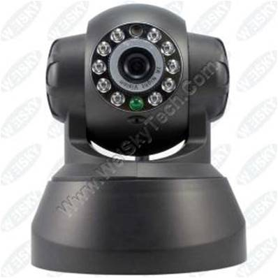 W CAMARA IP WIFI+LED SCI-030 NEGRA