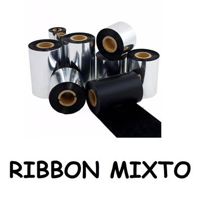 RIBBON MIXTO 110 x 300 G500 /530/RT700/EZ-1100/1200/2200 (5 rollos)
