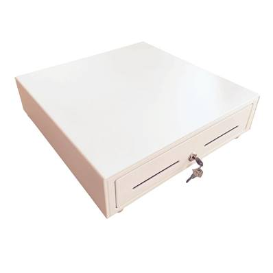 CAJON HS-410 (410 x 415 x 99) BLANCO Pisabilletes Metal