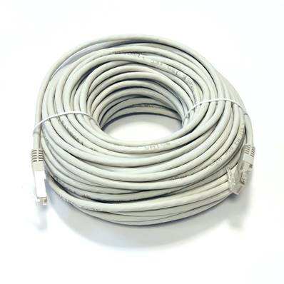 CABLE Cat 5e UTP RJ45 PEPEGREEN Latiguillo 25 m. Grey